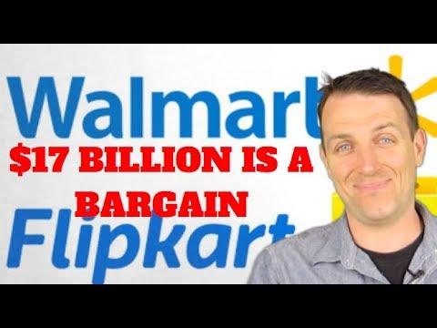 WALMART STOCK ANALYSIS AND FLIPKART ACQUISITION