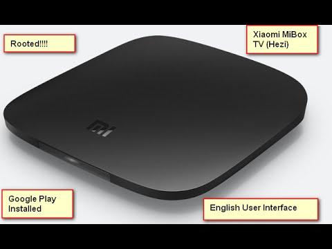 Tutorial - Xiaomi MiBox TV (Hezi) - English UI Language Change - Root & Google Play Installation