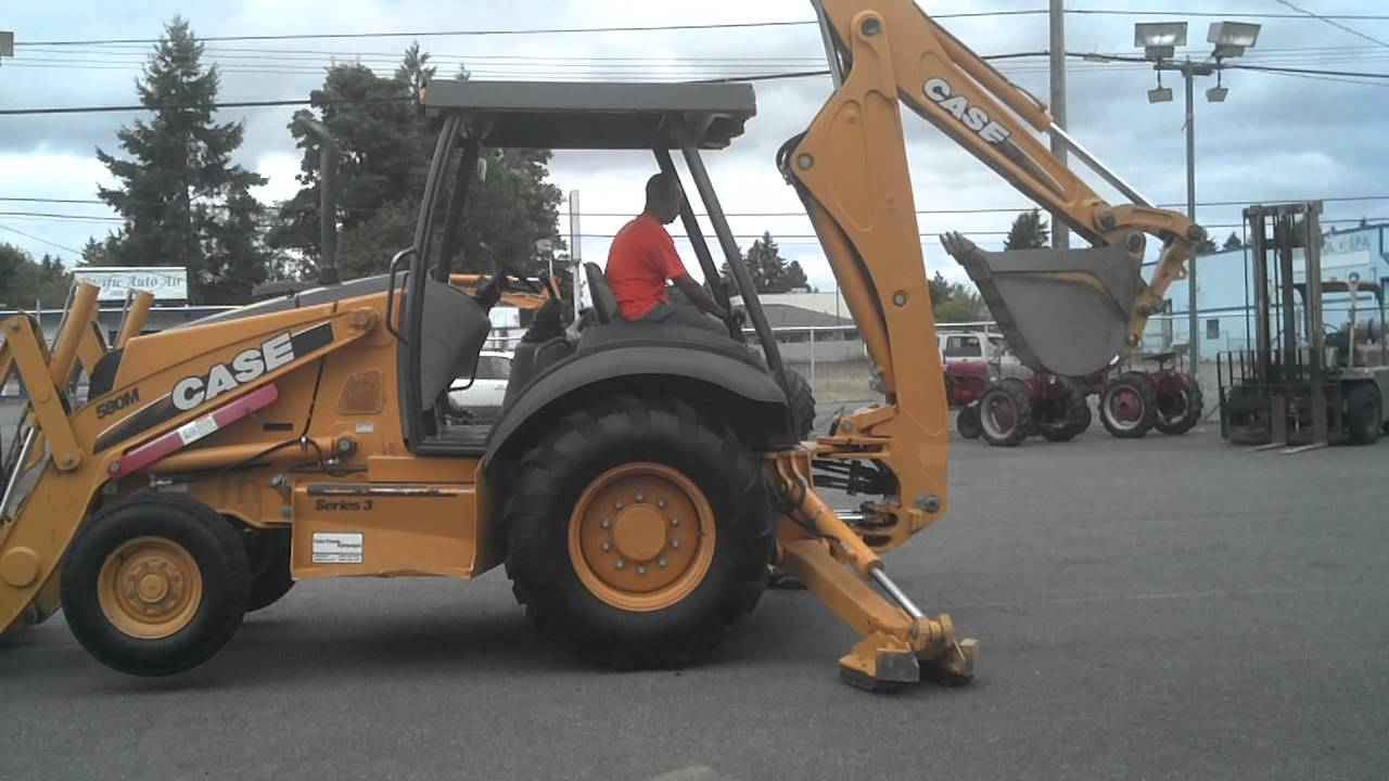 2009 case 580m series 3 2wd loader backhoe 252 original hours up for auction [ 1280 x 720 Pixel ]