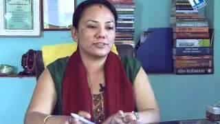 Aadha Aakash with Menuka Thapa