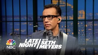 Fred Talks: Big Game Hunting - Late Night with Seth Meyers