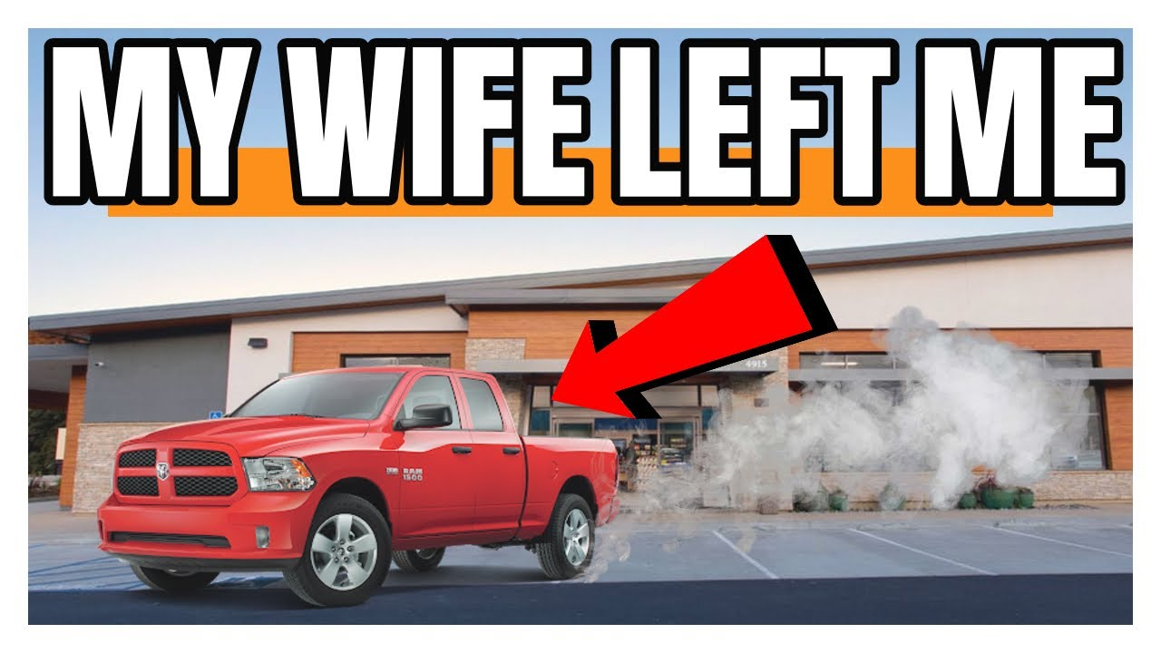 My Wife Left Me! And I Don't Have Any Money!