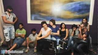 Making of Clip Alaa edeen shatha hassoun