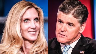 Ann Coulter Bashes Sean Hannity's Love For Trump, She Literally Wrote A Book Praising Trump