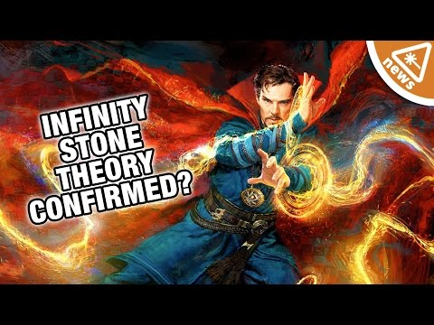 Has Our Doctor Strange Infinity Stone Theory Been Confirmed? (Nerdist News w/ Jessica Chobot)