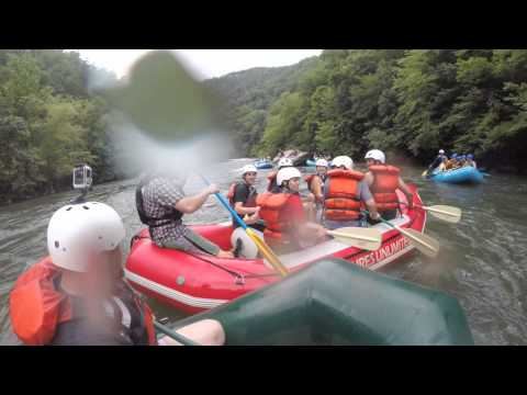 Whitewater Rafting Trip down Ocoee River in Tennessee