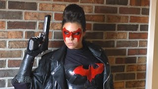 THE RED HOOD! Jason Todd Cosplay by Gina B!