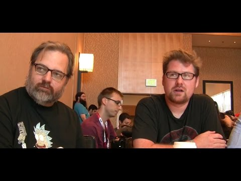 Rick and Morty Interview: Dan Harmon, Justin Roiland, Ryan Ridley [SDCC 2015]