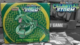 Pokemon Celestial Storm Elite Trainer Box Opening!