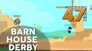 [47] Barn House Derby (Let's Play Ultimate Chicken Horse w/ GaLm and friends)