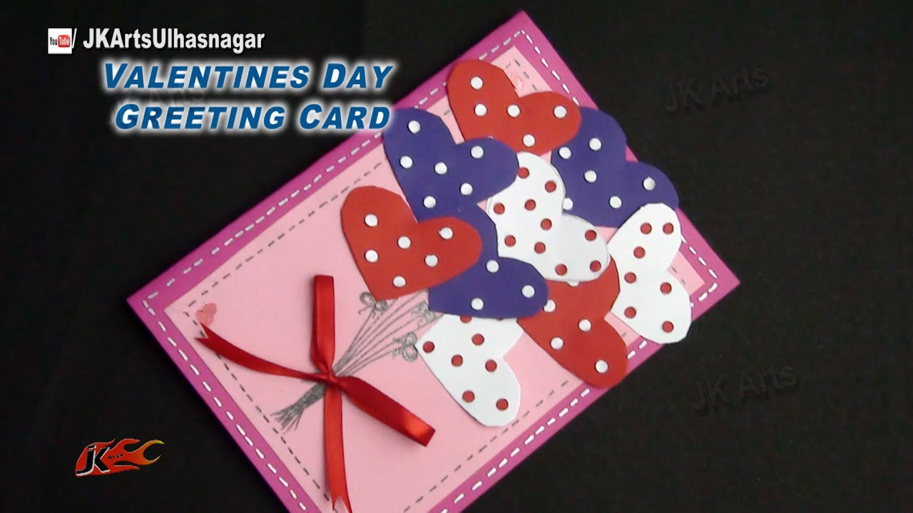 How to make Valentines Day Greeting Card – Valentines Day Greetings Cards