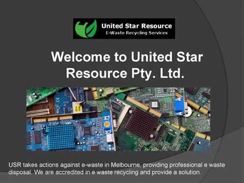 Recycle Computers Melbourne - United Star Resource