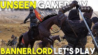 1 Hour Of UNSEEN Mount and Blade II SINGLEPLAY Gameplay - Part 1 -