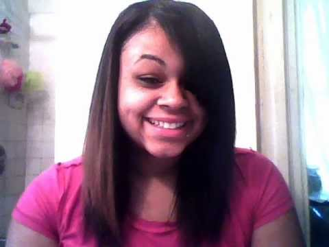 Quick Weave Hairstyles With Side Bangs 100 Sew In