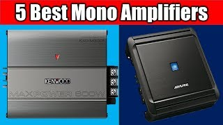 Top 5 Mono Amplifiers 2018 || Best Mono Amplifiers Review ||