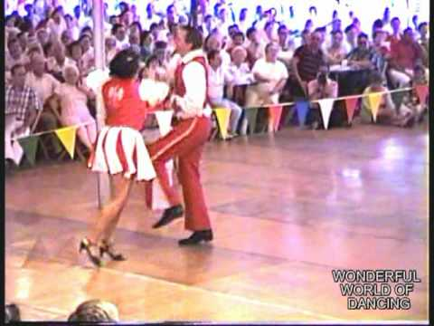 """POLKA DANCE CONTEST PT3OF3 WITH BRASS EXPRESS AT FRANKENMUTH 1989""""OPEN"""""""