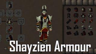 Zeah: Shayzien Full Armour Set Guide (Tier 5)