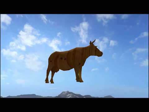 Farming Simulator 17| FLYING WOOD COW IN GOLDCREST VALLEY
