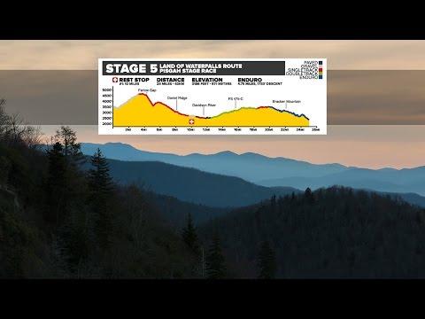 2017 Pisgah Stage Race | Stage 5 | Industry Nine's Land of Waterfalls Loop
