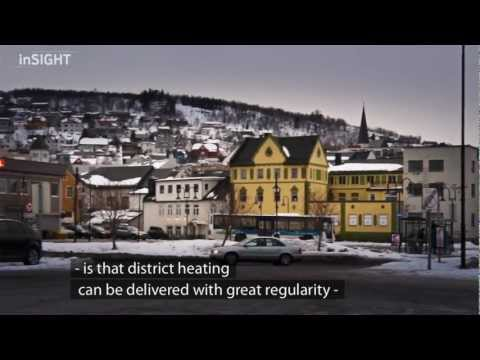 District heating plant in Harstad, Norway
