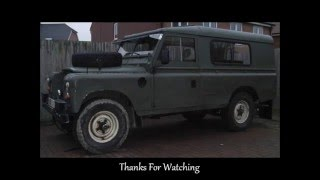 Land Rover Series - Side Windows & Bench Seats