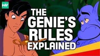 Genie's Rules Explained! | Aladdin Theory: Discovering Disney