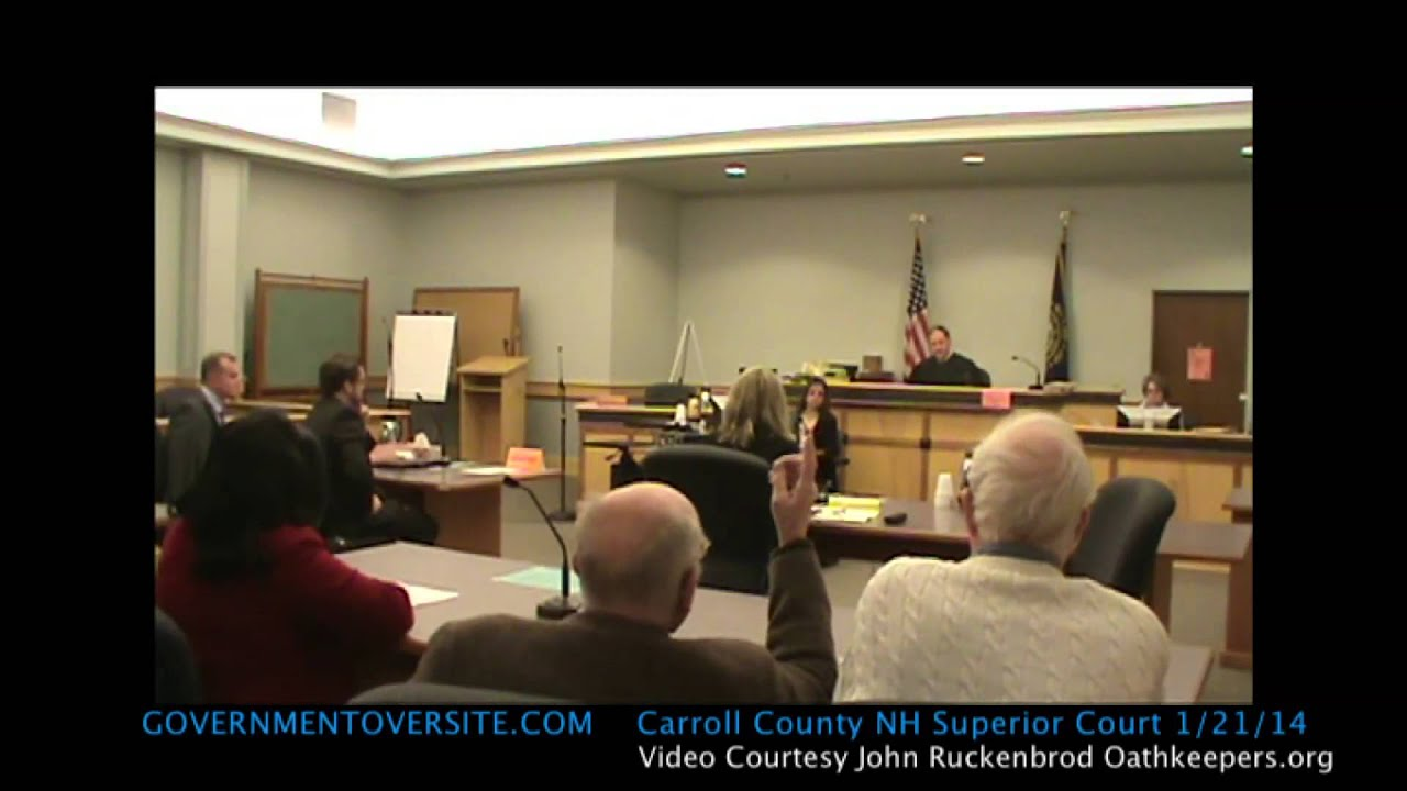 Carroll County Superior Court 1/21/14