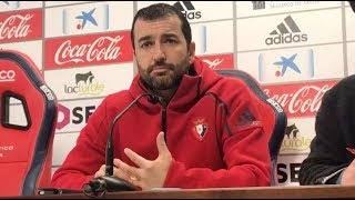 Diego Martínez. Previa Osasuna-Cultural Leonesa