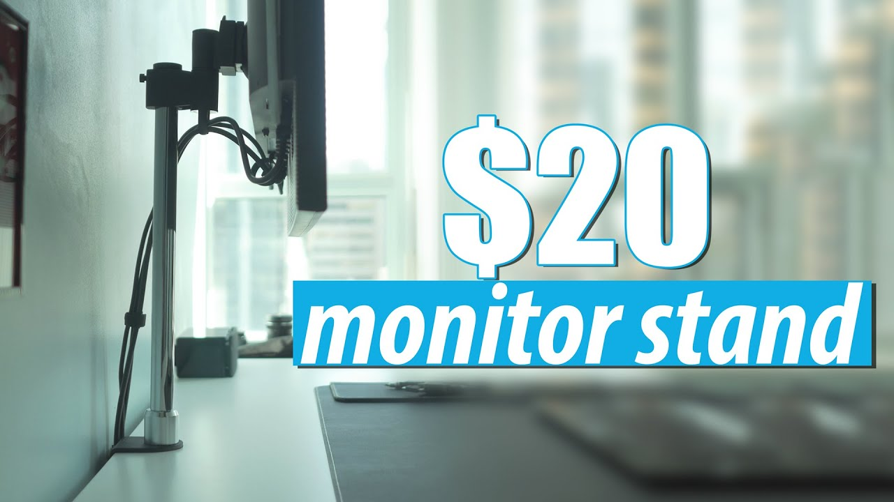 best monitor arms 2020 $20 Monitor Arm Stand Review   Amazing Value and Looks Awesome