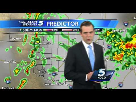 Forecast: Severe weather will include tornado, large hail and strong winds