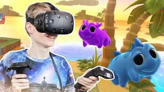 BEST ROOM SCALE GAME EVER! | Water Bears VR (HTC Vive Gameplay)