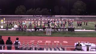 westmont high school marching band wba independence field show 2015