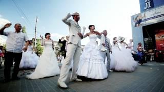 Невесты в городе - 2. Флэшмоб. Главная тема.