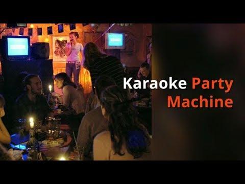 Karaoke Party Machine - Karaoke USA GF758 - Bluetooth Karaoke System
