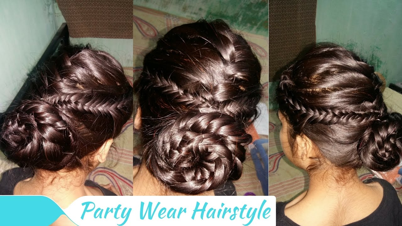 party wear hairstyle
