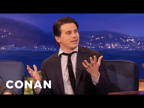 Jason Ritter Teaches Conan The Penis Game   CONAN on TBS