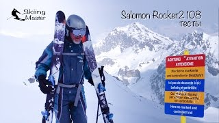 Тест лыж Salomon Rocker2 108