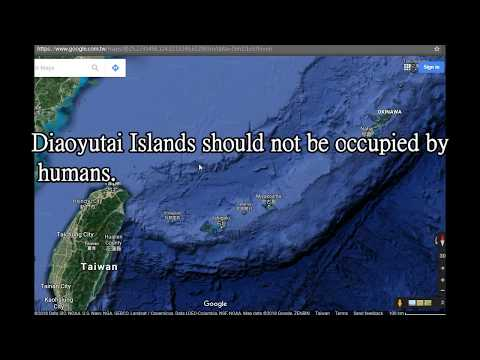 Diaoyutai Islands should not be occupied by humans.