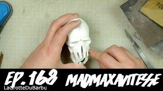 Finission et peinture d'une impression 3d / ponçage & peinture - Ep 168 - MadMaxAVitesse
