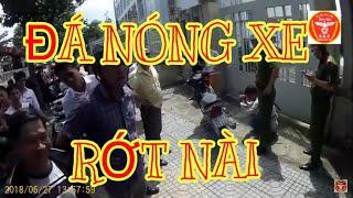 SBC Biên Hòa - nhóm đá xe đi EX150 trắng đỏ biển 38E1-051.07 rớt nài tại Biên Hòa