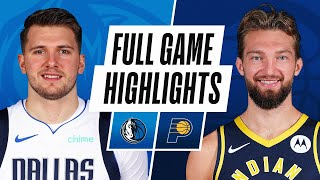 Game Recap: Mavericks 124, Pacers 112