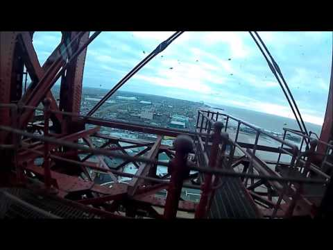 Blackpool Tower Eye - my trip up and down