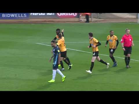 Cambridge United 2 Bury 2