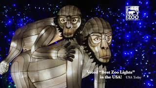 PNC Festival of Lights Voted Best Zoo Lights 2018 - Cincinnati Zoo