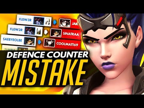 Overwatch | How NOT To Counter Defence Heroes - Widowmaker, Bastion & More