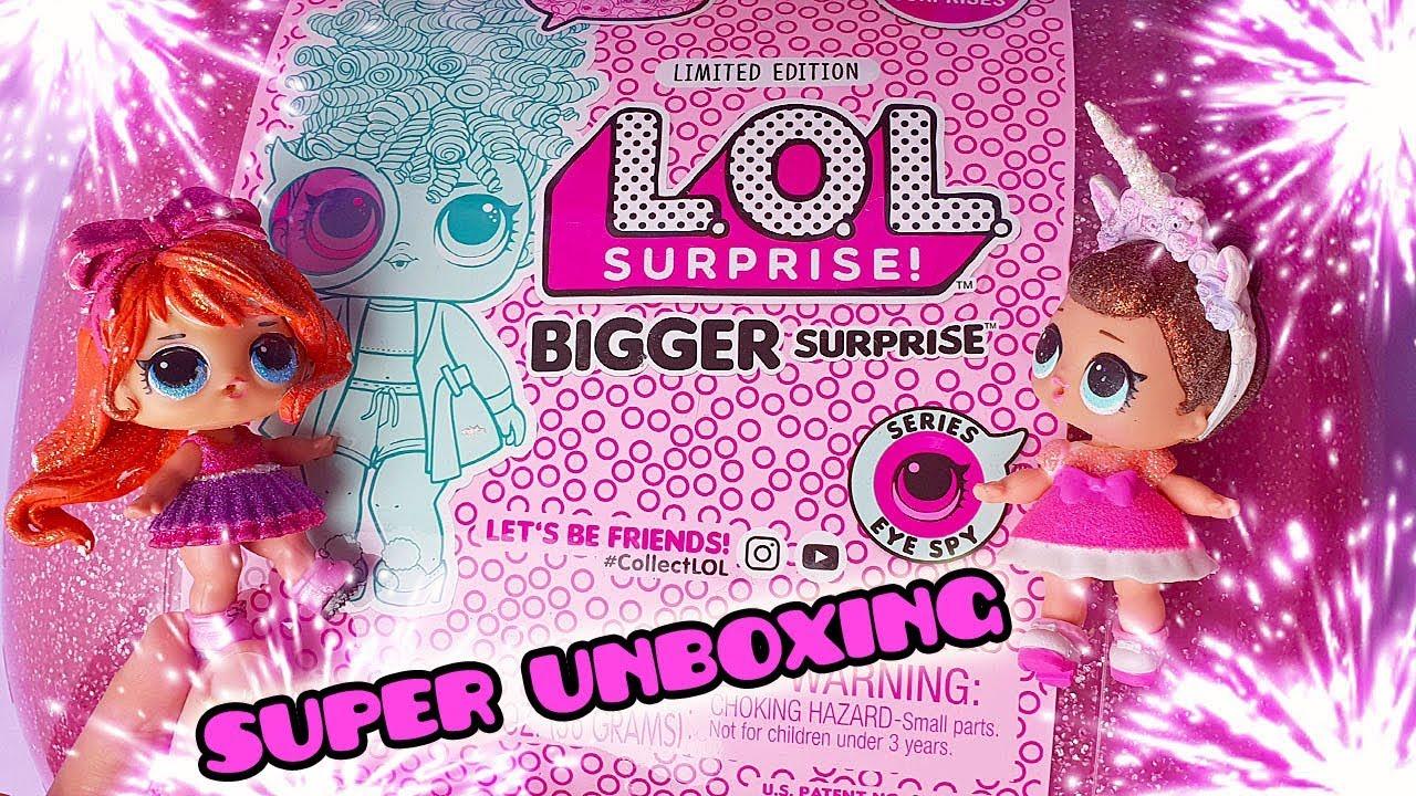 Download LOL Surprise BIGGER SURPRISE con 60 Sorprese e le PARRUCCHE! [Super Unboxing]