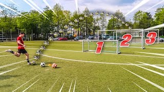 MULTI TORE FUßBALL CHALLENGE ! *Hart*