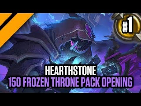 Hearthstone - 150 Frozen Throne Pack Opening
