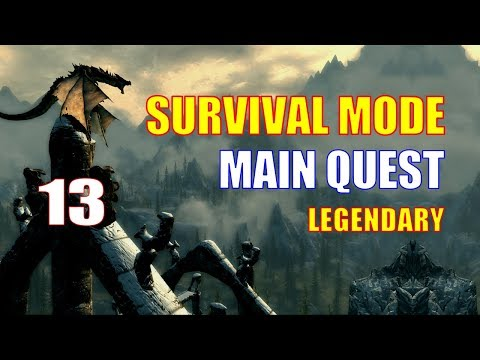 Skyrim Survival Mode Walkthrough MAIN QUEST #13 - Prepping for the Final Makeover: Winterhold