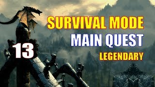 Skyrim Survival Mode Walkthrough MAIN QUEST #13 - Prepping for the Final Makeover: Winterhold